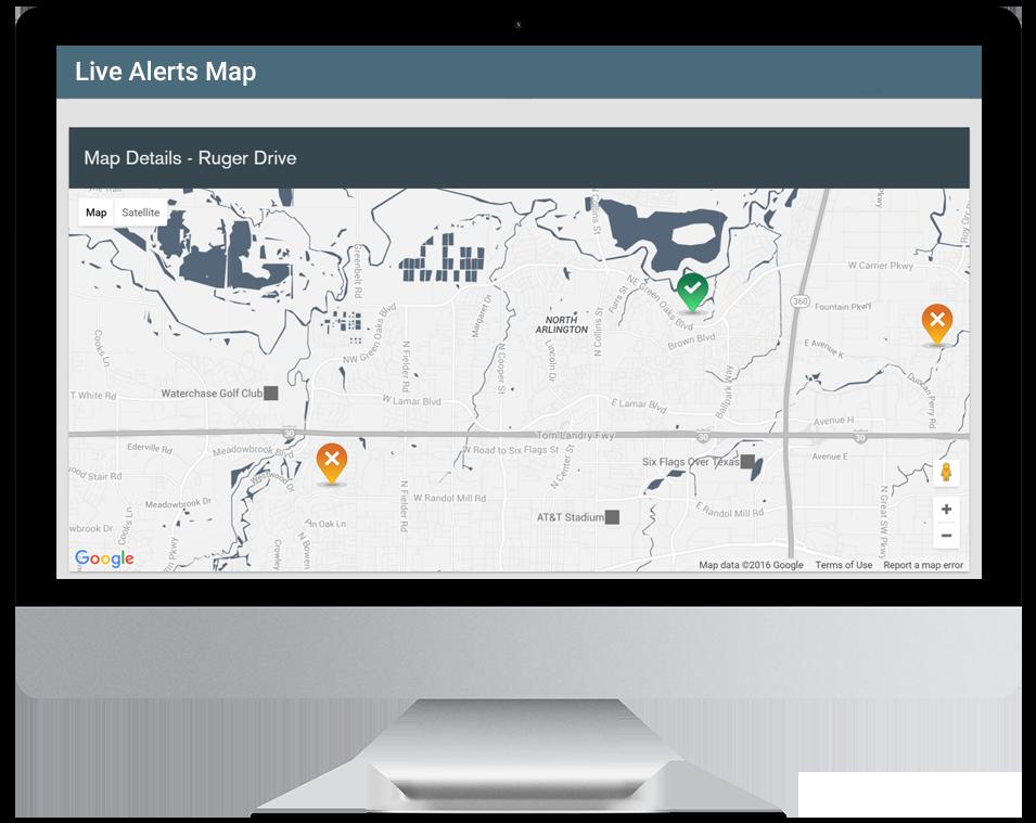 Live Alerts Map
