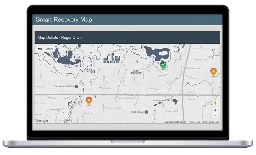 Smart-Recovery-Map